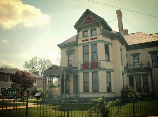 Step into Flint's past when you step into the Whaley Historic House Museum
