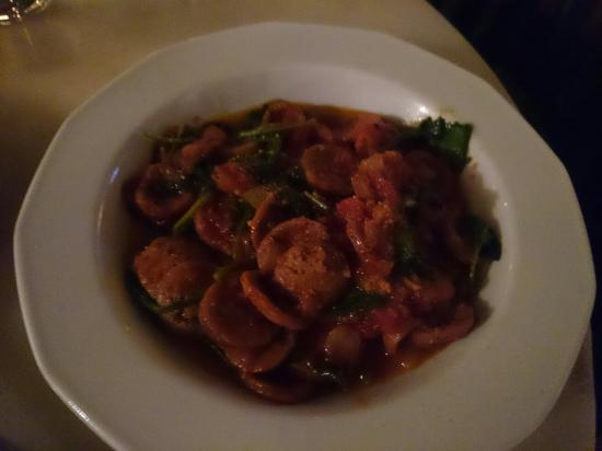 Zefferelli's: Dessert, chicken and pasta, entree