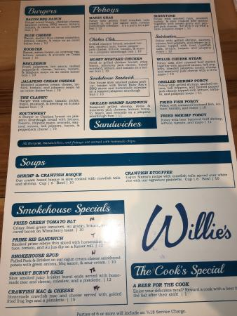 Willie's Restaurant and Bar