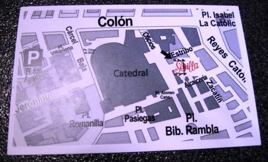 Restaurante Sevilla: ecco dove di trova
