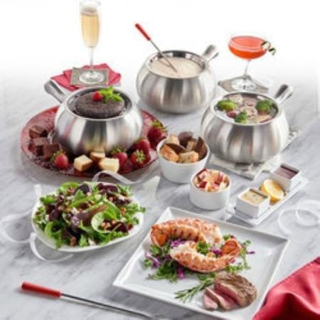 The Melting Pot: 40th Anniversary Menu items