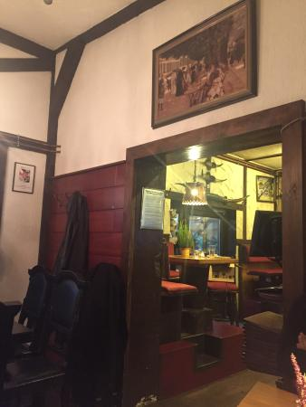 Restaurant Scheune: Very warm and nice place. A lot of wood and fire place