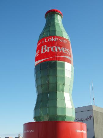 Big Coke Bottle Picture Of Turner Field Atlanta