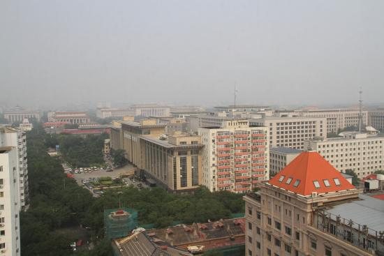 Capital Hotel Beijing: View from room 1508
