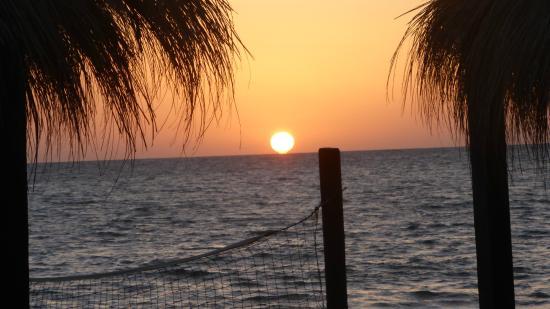 Safira Palms Hotel & Spa : levé de soleil sur la plage