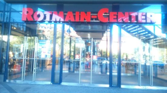 entrance to shopping centre picture of rotmain center. Black Bedroom Furniture Sets. Home Design Ideas
