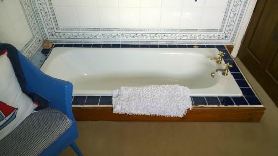 Llangorse, UK: Die Badewanne