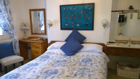 Llangorse, UK: Das Zimmer