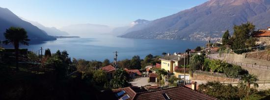 Hotel Ristorante Belvedere: La vista dal balcone della nostra stanza