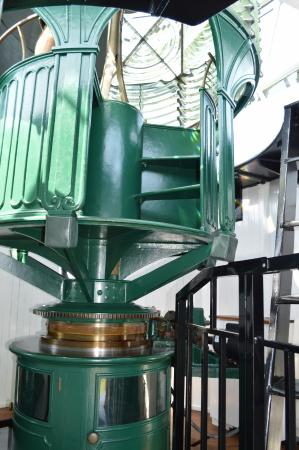Jupiter, Флорида: The inner workings of the lighthouse.