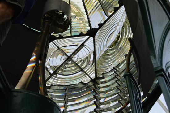 The Jupiter Lighthouse reflection glasses.