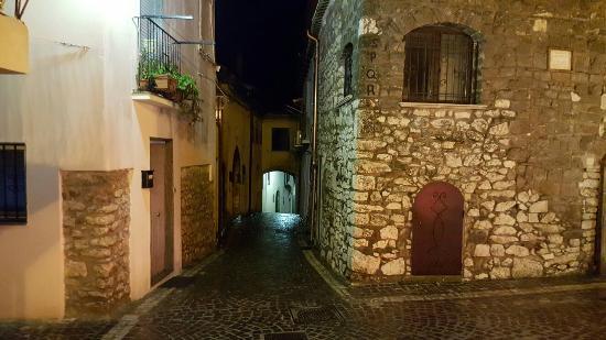 Castel di Sasso, Ιταλία: Ristorante del Borgo