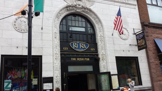 Ri Ra Irish Pub on Church St.