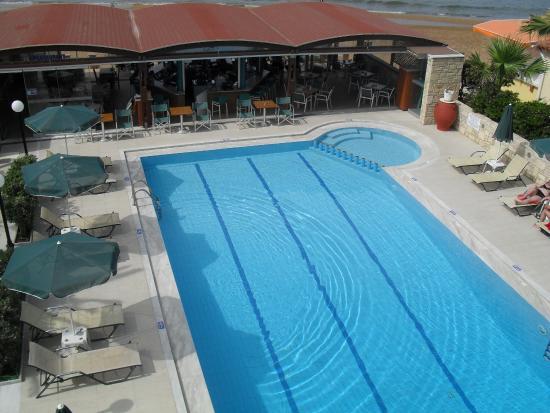 Hotel Nektar Beach: Näkymä parvekkeelta...