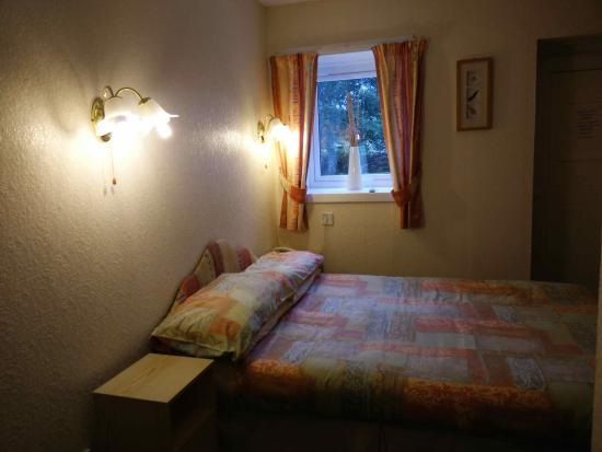Morefield Motel : Small, dark and dated room