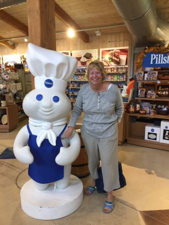 Orrville, OH: Take your picture with the Dough Boy