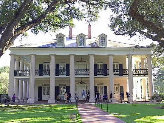 Big House Picture Of Oak Alley Plantation Vacherie Tripadvisor