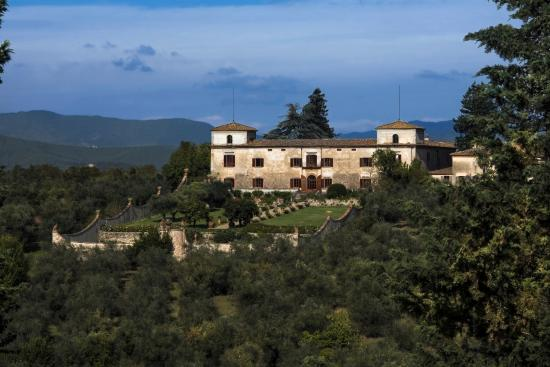 Villa Medicea di Lilliano, Wine Estate