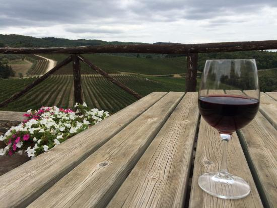 Romitorio di Serelle: A glass of Chianti in Chianti