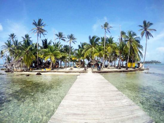 Banedup island san blas