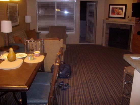 Living room area, WorldMark Wolf Creek
