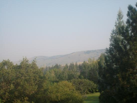Eden, UT: View from WorldMark Wolf Creek (a little hazy from area wildfires)