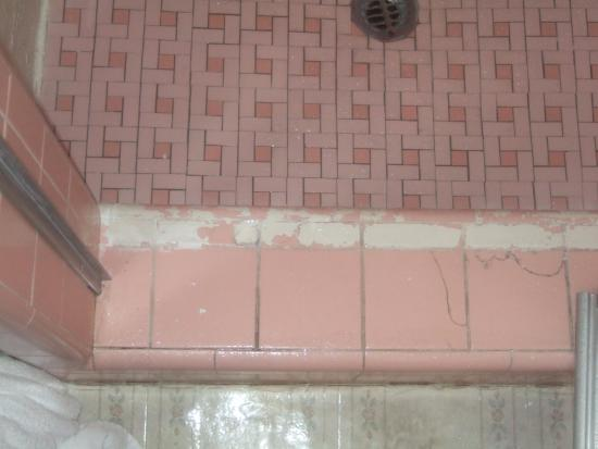 Canyon Lodge Motel: shower tiles