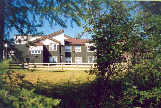 Grenfell Campus Summer Accommodations, Memorial University of Newfoundland: Exterior Building of Chalets Apartments