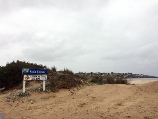 Playa Punta Colorada: Punta de Colorado