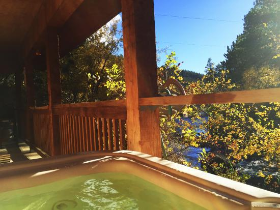 Dripping Springs Resort: View from hot tub