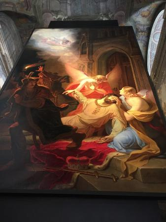 Hotel Cvilin: Painting Blessings of st. Wenceslas by Anton Pettera 1844, Opava
