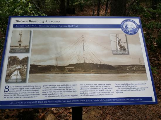 North Chatham, Μασαχουσέτη: Background on the antenna on the hill