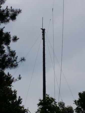 North Chatham, Μασαχουσέτη: The remnant historical antenna