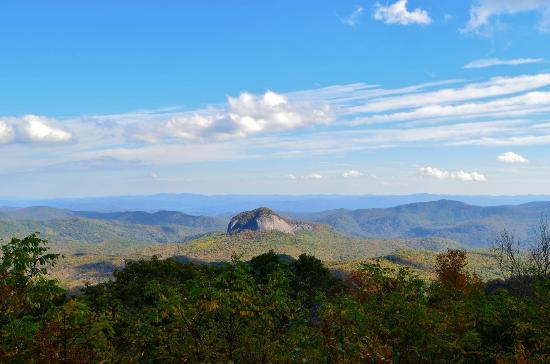 Canton, NC: Looking Glass Rock