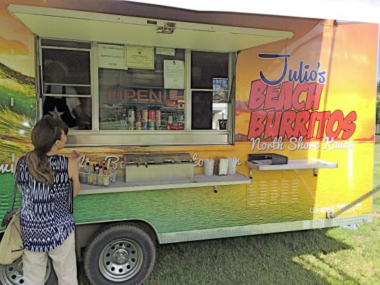 Julio's Beach Burritos: North Shore top food truck to try!