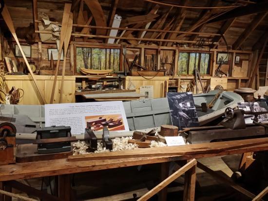 Hyannis Port, MA: Peter Culler master boatbuilder's workshop