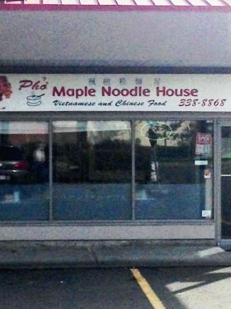 Pho Maple Noodle