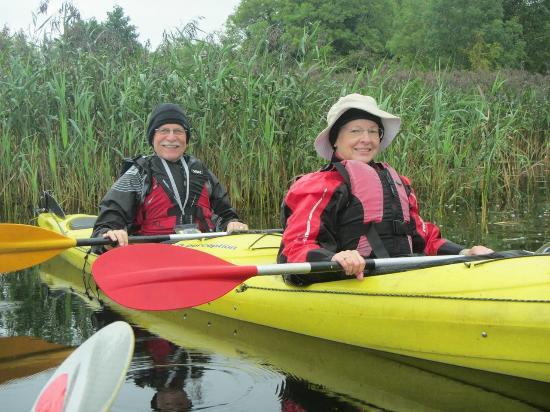 Kayakmor: Kayaking the River Corrib in Galway, County Galway, Irealnd