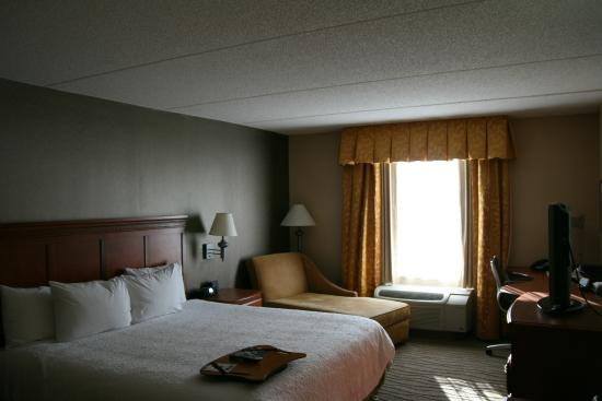 Hampton Inn & Suites Poughkeepsie: 1 king bed accessible room