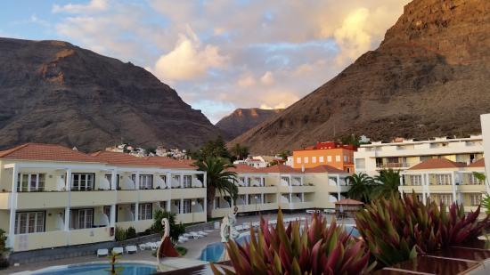Laurisilva Apartments: Blick vom Balkon