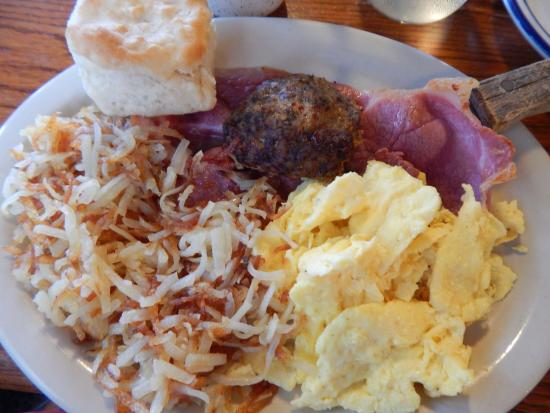The Country Kitchen At Callaway Gardens Meat Lover S Breakfast Platter