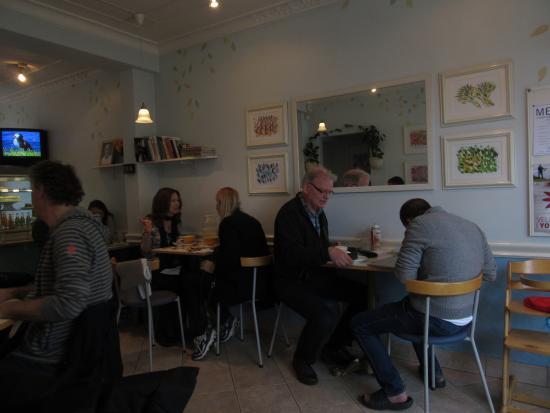 Cafe Gardurinn: 店内