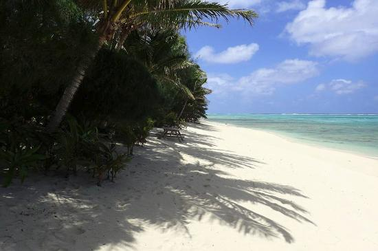 Heliconia Hideaway: Beach outside the villa