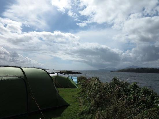 Ballylickey, Irlanda: View from our tent