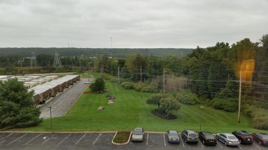 Hampton Inn Philadelphia/Great Valley/Malvern: Outer area view from the room