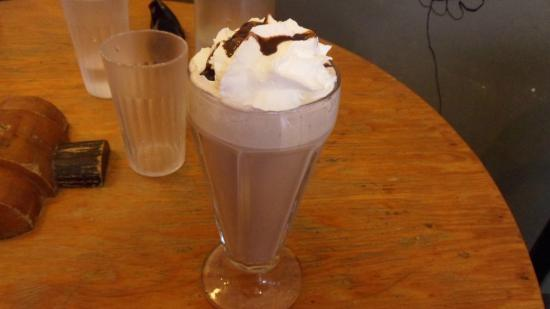 Spotted Horse Coffee: European Hot Chocolate, smooth and silky flavor