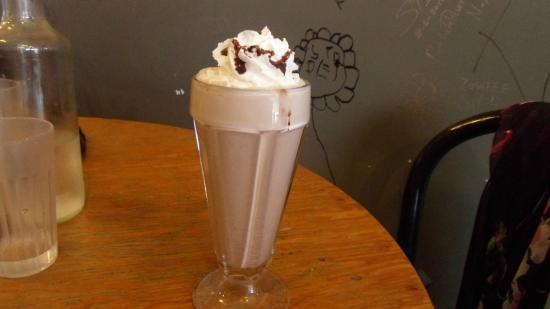 Spotted Horse Coffee: Mexican Hot Chocolate, very good!