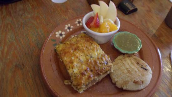 Spotted Horse Coffee: Baked Charizo Omelet