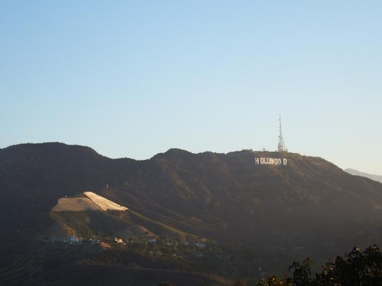 Hollywood Bowl Overlook Sunrise Over The Sign