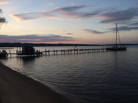 West Bay Beach, a Holiday Inn Resort: View at sunset